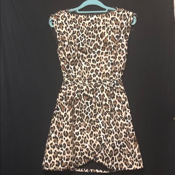 49deec47a6ac H&M Dresses   H M Leopard Print Dress Size 2   Poshmark